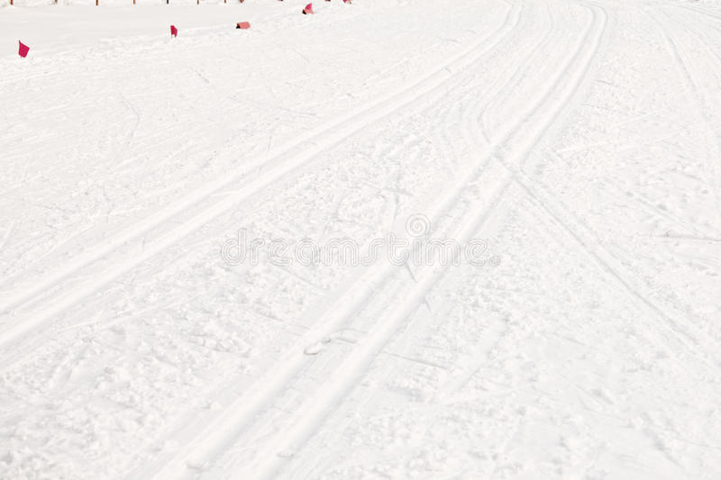 Download Ski run stock photo. Image of flags, path, trace, track - 23529336