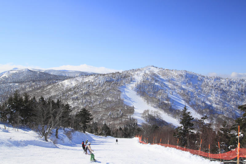 Download Ski Run Stock Image - Image: 24195311