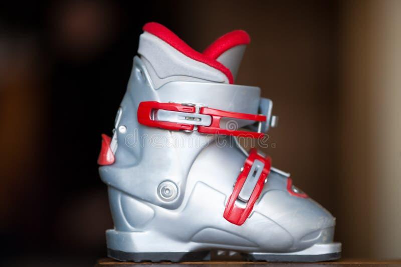 Ski shoe stock photos