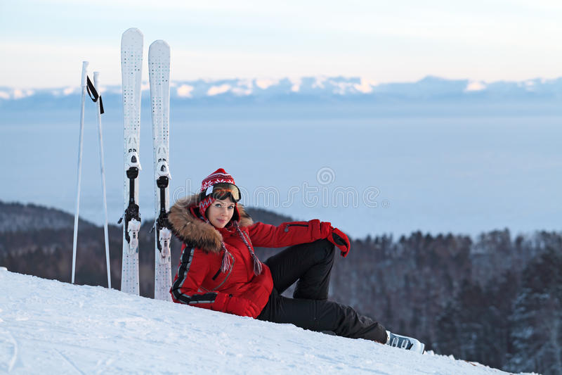 Download Ski slope stock photo. Image of leave, beautiful, lifestyle - 23498766