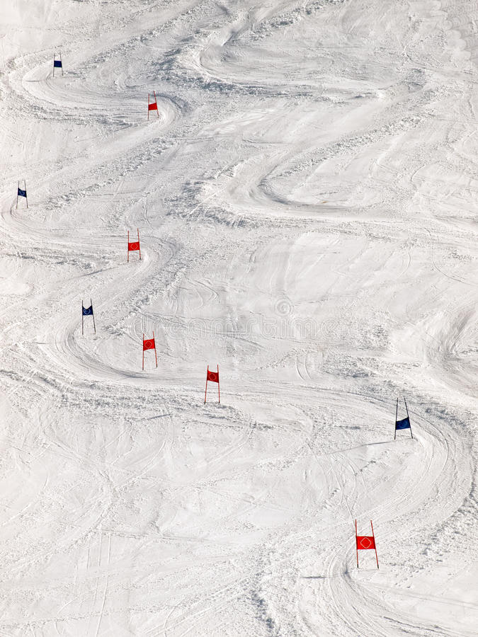 Download Ski slope stock photo. Image of markers, sport, stick - 23583066