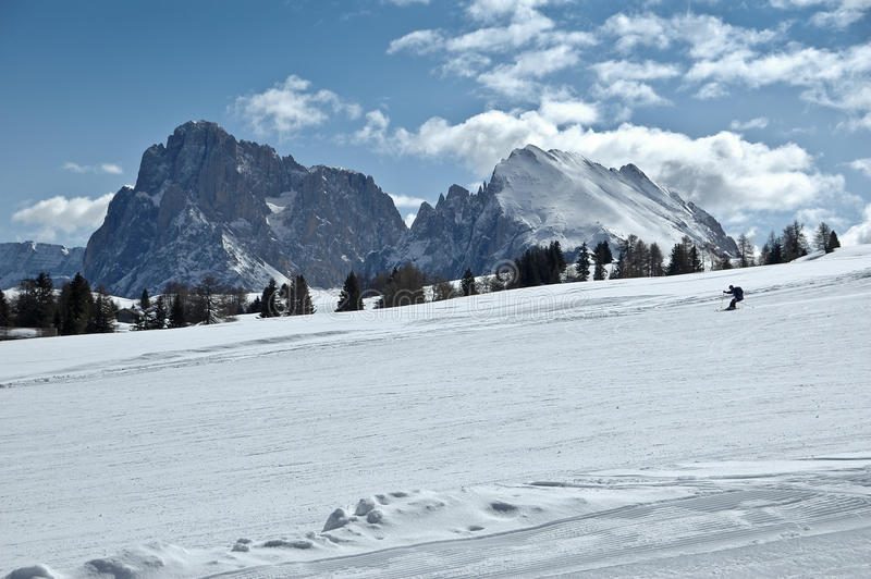 Download Ski Slope, Dolomites - Italy Royalty Free Stock Image - Image: 25934116