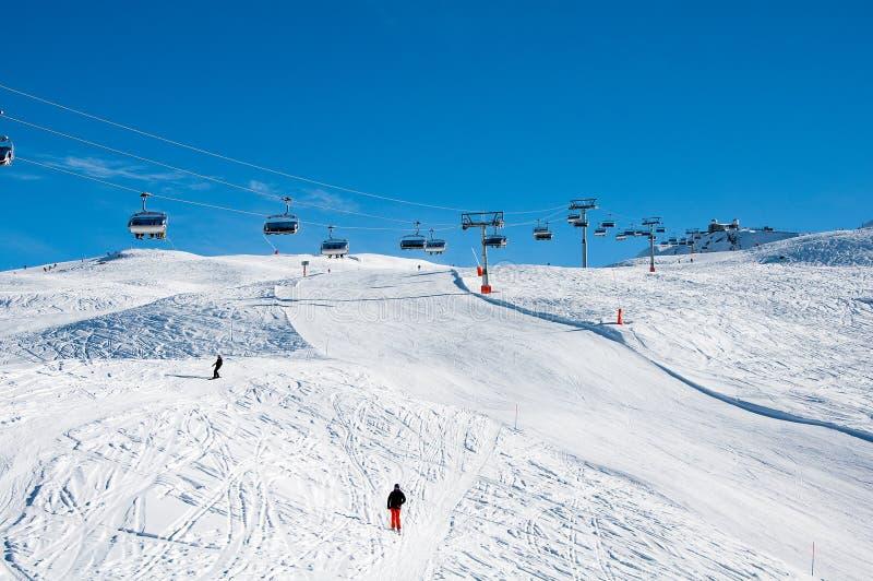 Download Ski Slope With Gornergrat Station In Background Editorial Image - Image: 29028910