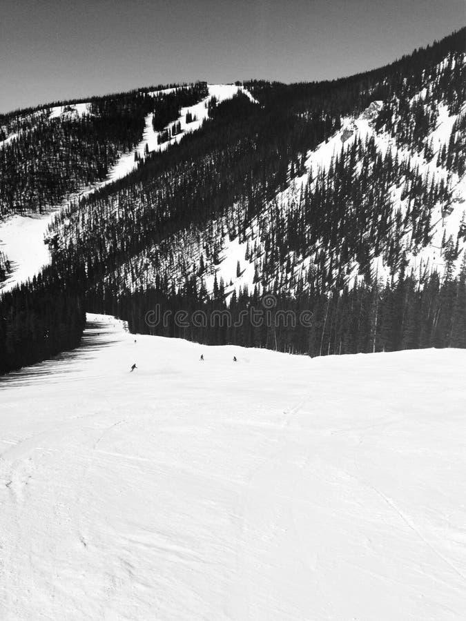 Ski Slope. Ski run at Keystone, Colorado stock images