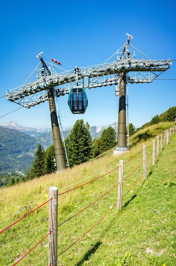 Free Ski Station In Summer Stock Photo - 66443010