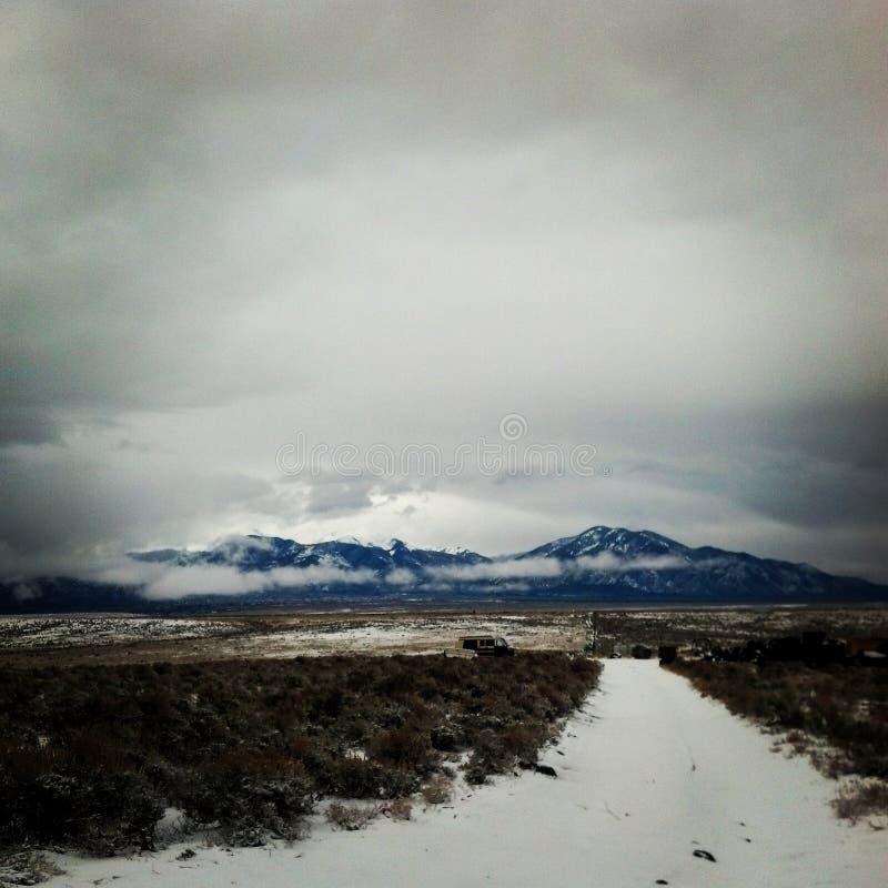 Ski Taos royalty free stock image