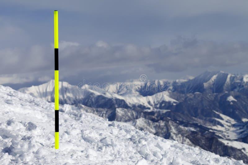 Ski Trail Royalty Free Stock Photo