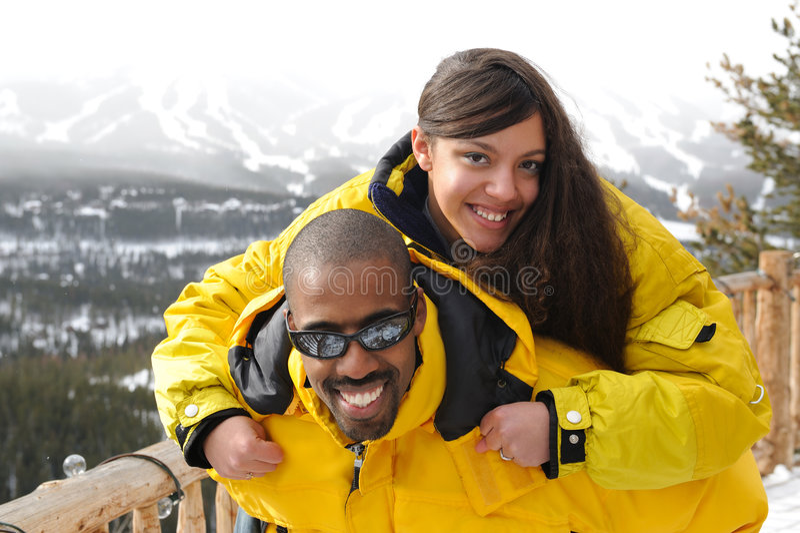 Ski Vacations royalty free stock photography