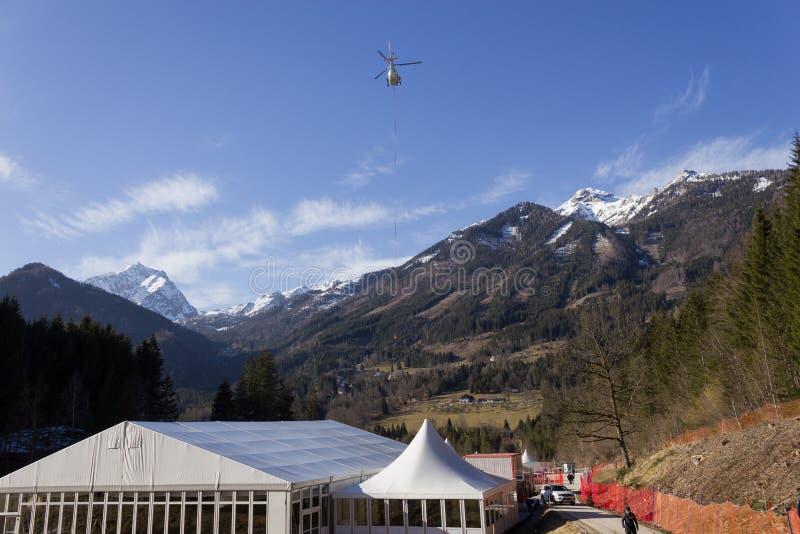 Ski Worldcup Hinterstoder 2016 photographie stock libre de droits