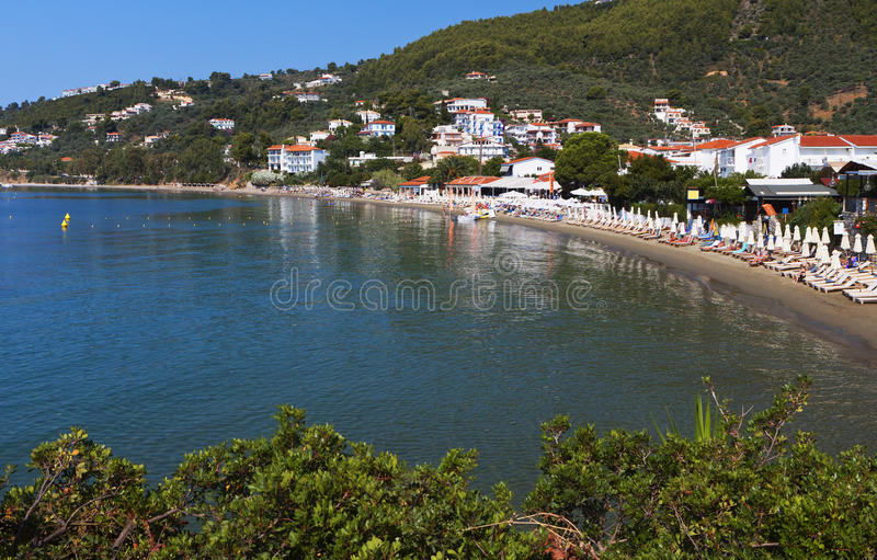 Download Skiathos island in Greece stock photo. Image of ammos - 31973928