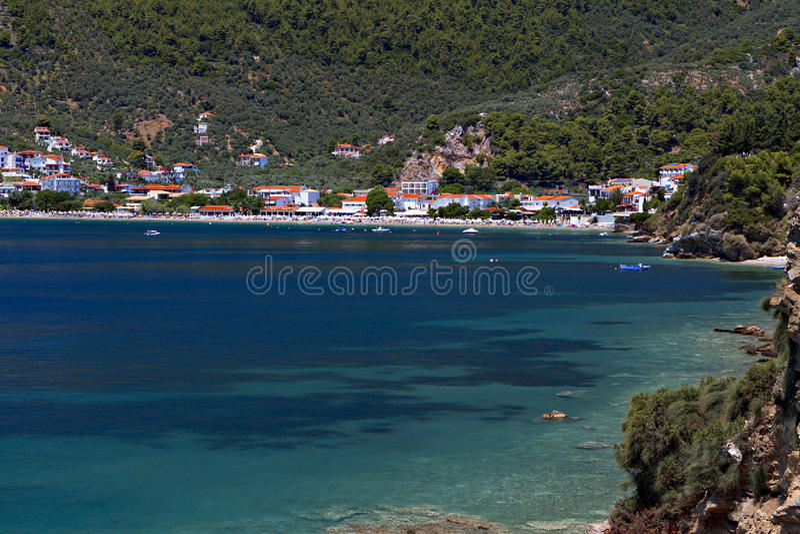Download Skiathos island in Greece stock image. Image of seascape - 31973959