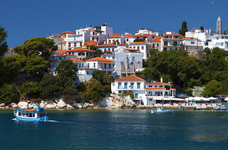 Download Skiathos island in Greece stock photo. Image of location - 31973298