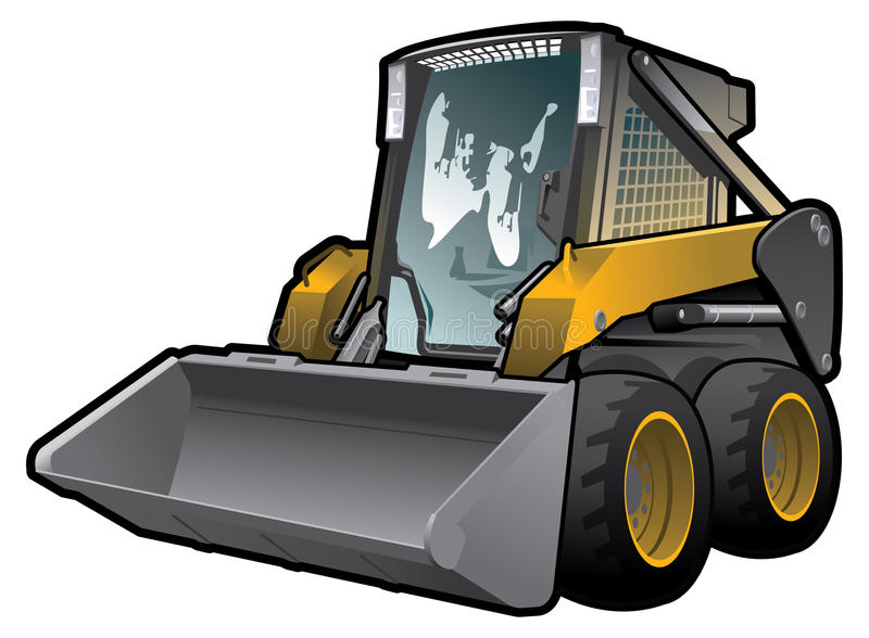 Skid Loader Stock Photography