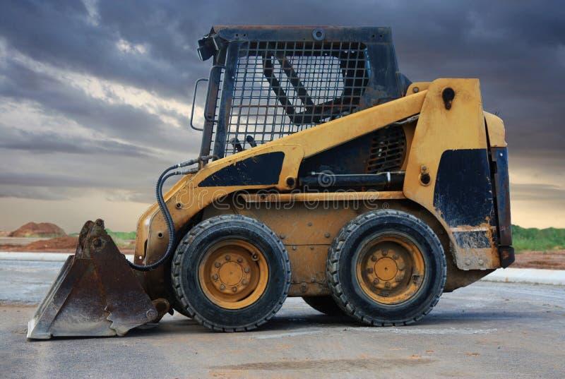 Download Skid loader stock photo. Image of outdoors, machine, excavator - 30675986