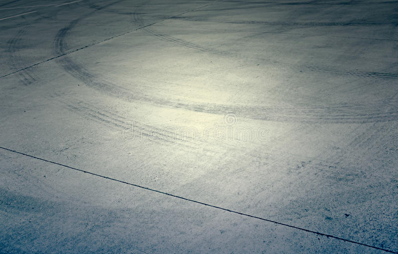 Skid marks stock images