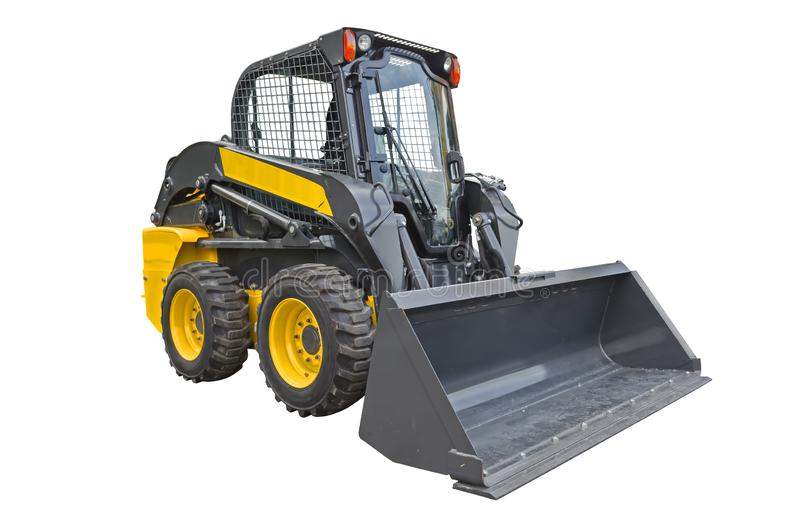 Skid steer loader royalty free stock image