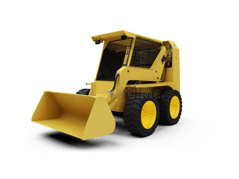 Download Skid steer loader stock illustration. Illustration of digging - 7277964