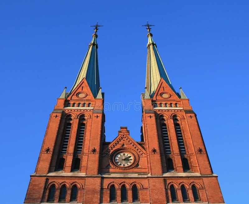 Skien Kirche stockbild