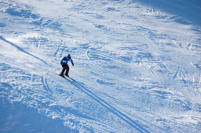 Download Skier stock photo. Image of powder, agility, skier, competition - 10781918