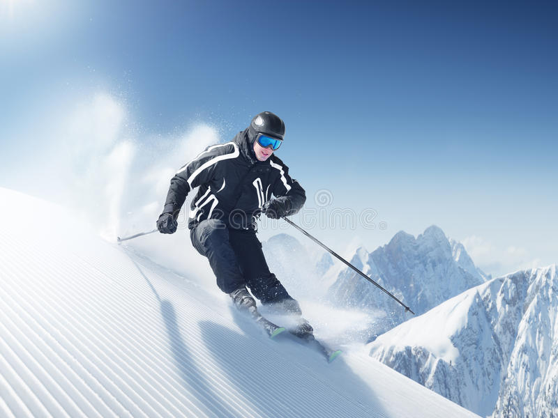 Download Skier Royalty Free Stock Images - Image: 13797719