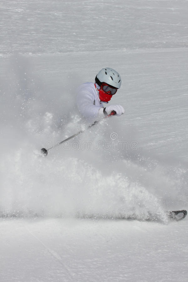 Download Skier stock image. Image of sport, spray, people, race - 23442837