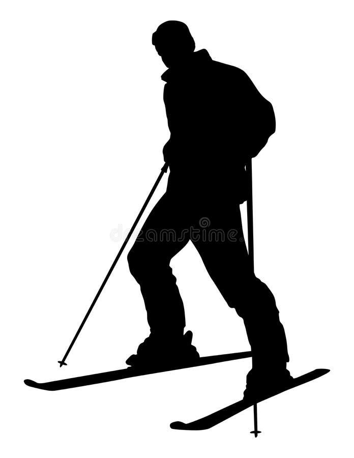 Download Skier stock vector. Illustration of cold, seasonal, snowboard - 23462098