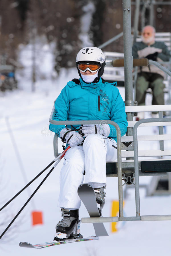 Download Skier stock image. Image of cold, beginning, cheerful - 28466575