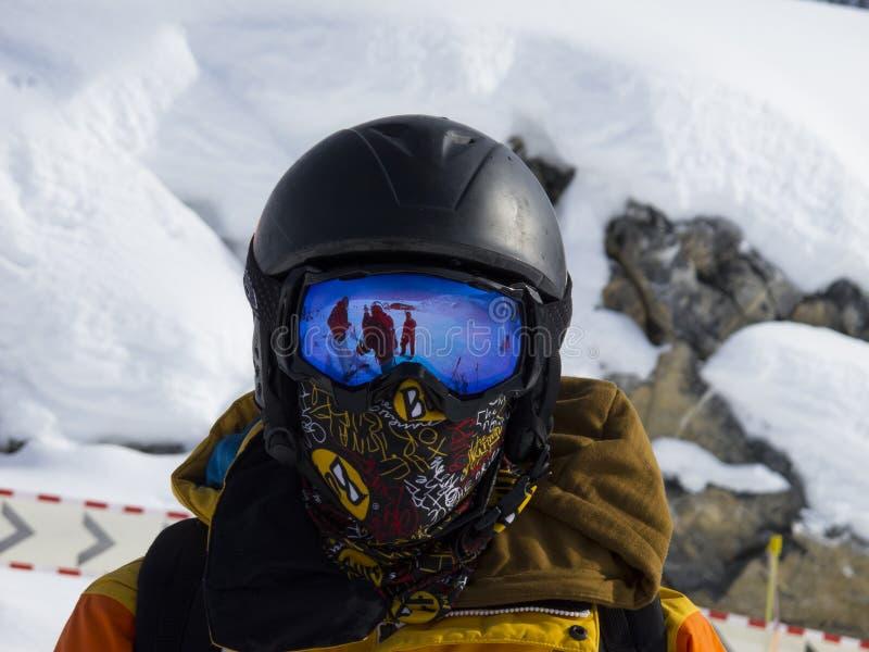 skier foto de archivo