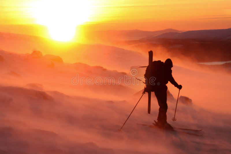Download The skier stock photo. Image of bold, extreme, bright - 5129648