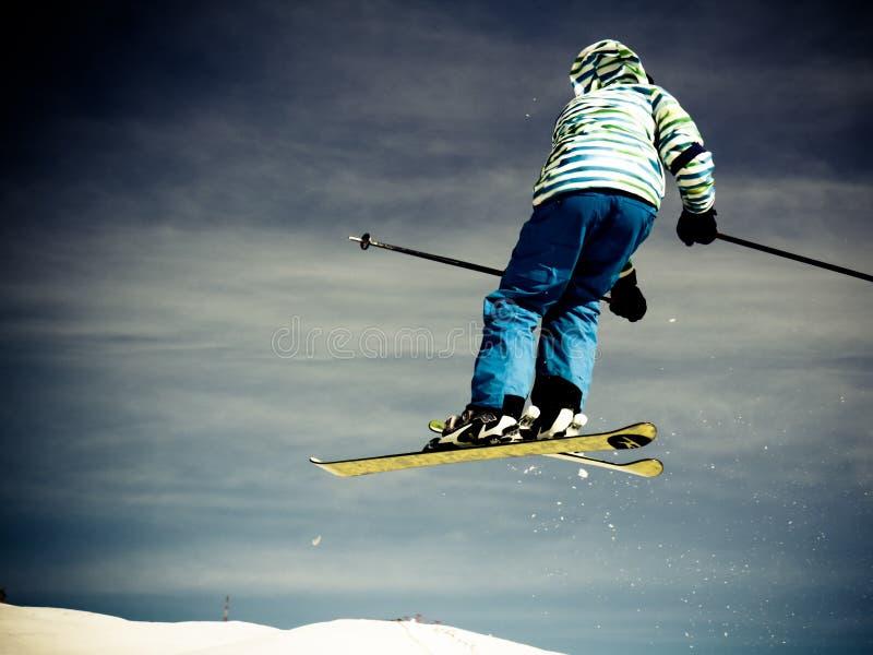 skier foto de stock