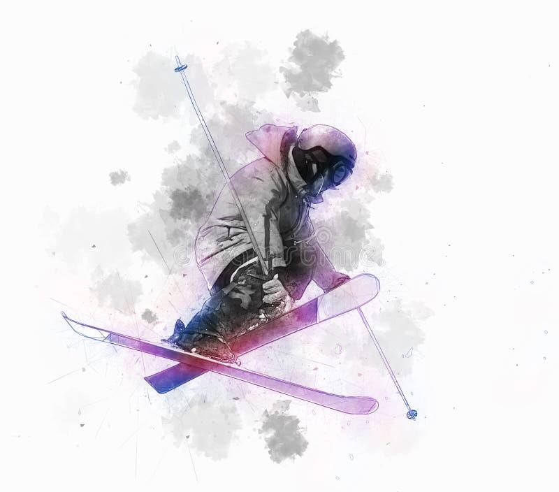 skier imagen de archivo libre de regalías