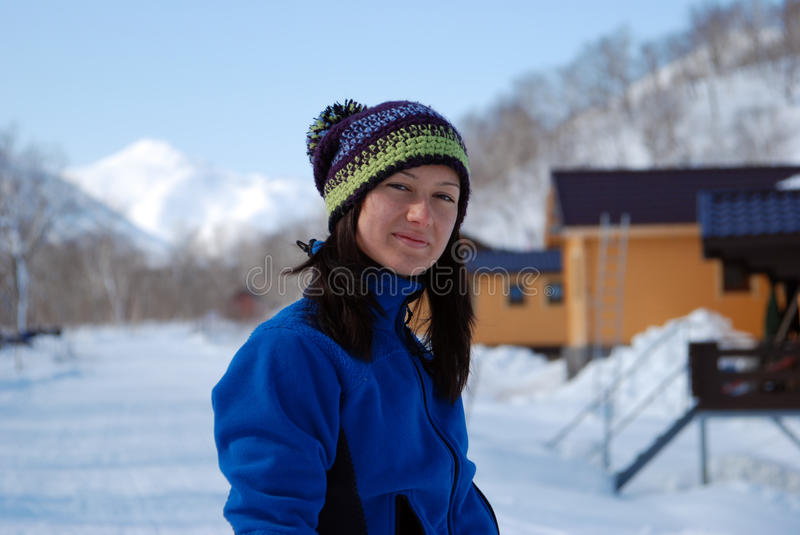 Skier Girl Royalty Free Stock Image