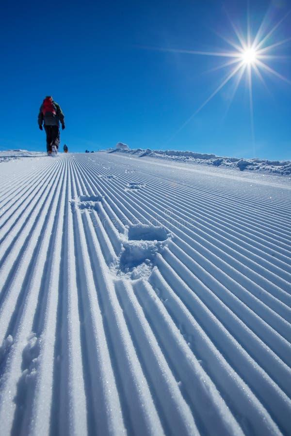 Free Skier Is Posing At Camera At Gudauri Resort In High Mountaing Of Stock Photos - 33963323