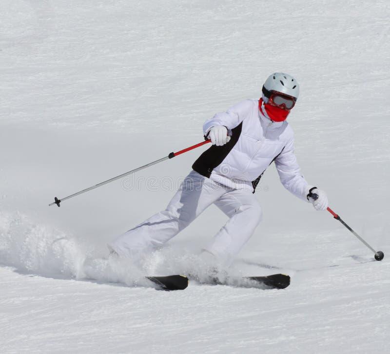 Download Skier stock image. Image of mountain, kids, racing, speeding - 30274629
