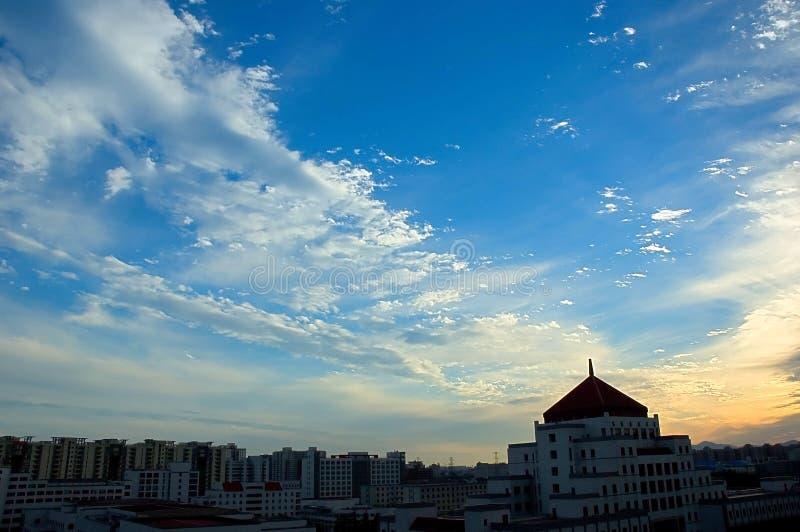 Skies stock photo