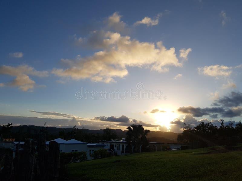 Skies in PR royalty free stock images