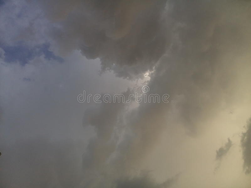 Skies royalty free stock photos