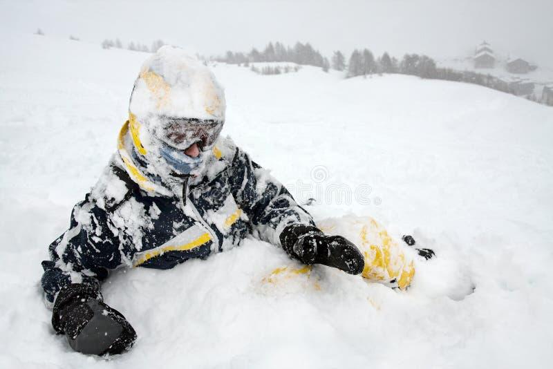 Skifahrer stockbilder