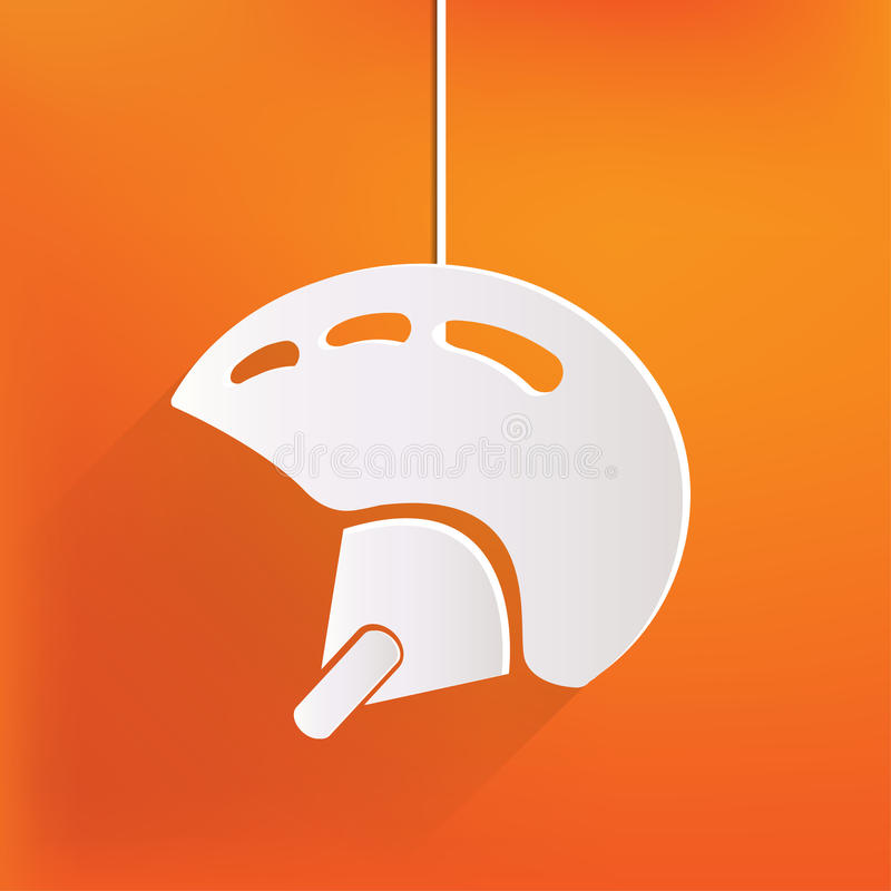 Download Skiing helmet icon stock vector. Illustration of extreme - 37390544