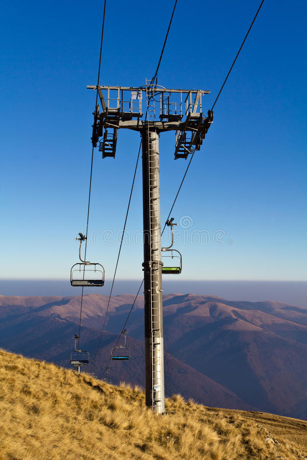 Download Skiing lift stock photo. Image of mountains, blue, travel - 22253894