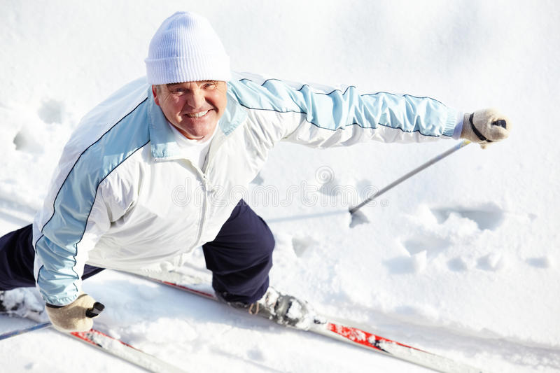 Download Skiing male stock photo. Image of expression, person - 25929838