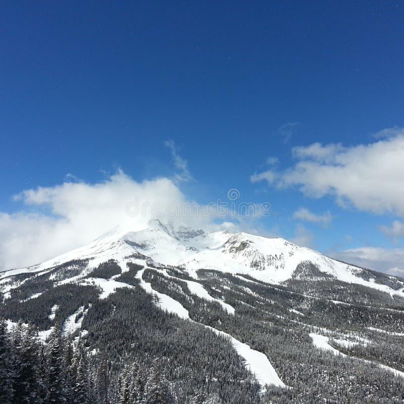 Skiing mountain grand targee royalty free stock photos