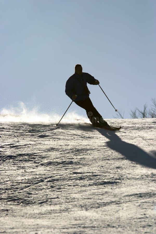 Skiing New Royalty Free Stock Photo