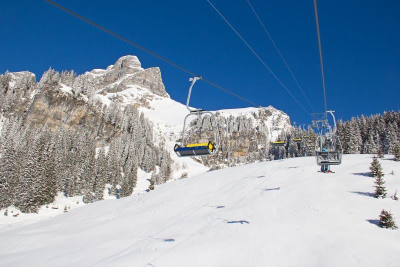 Download Skiing slope stock image. Image of european, piste, resort - 34368057