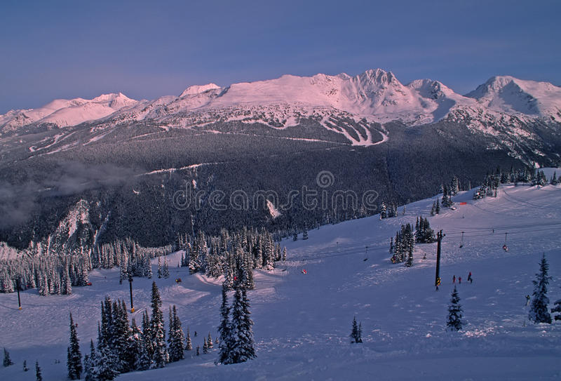 Download Skiing At Whistler Mountain Stock Photo - Image: 11721250
