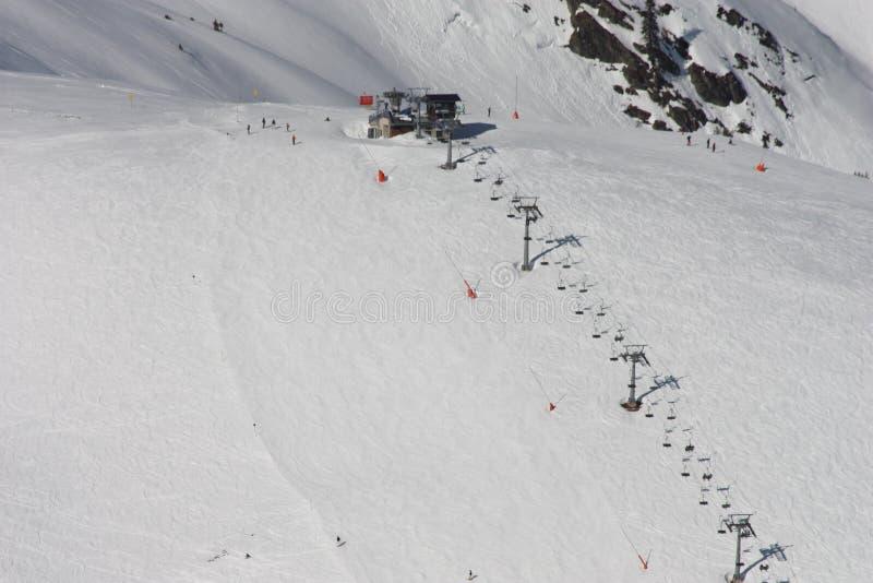 Skilift стоковая фотография rf