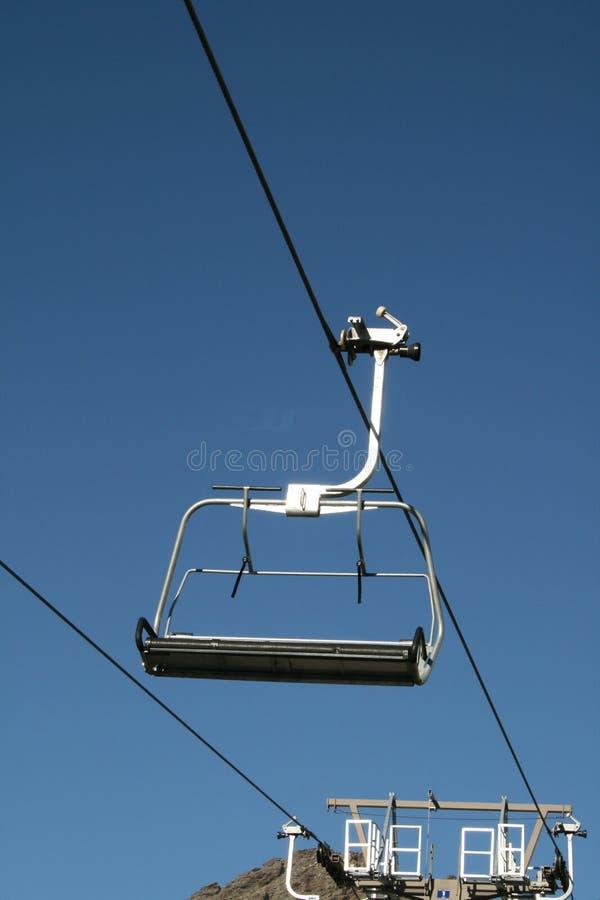 Skilift stock foto