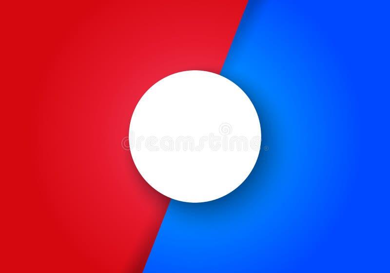 Skiljelinje för sida för vektorInfographic 2 moment Kontra sk?rm stock illustrationer