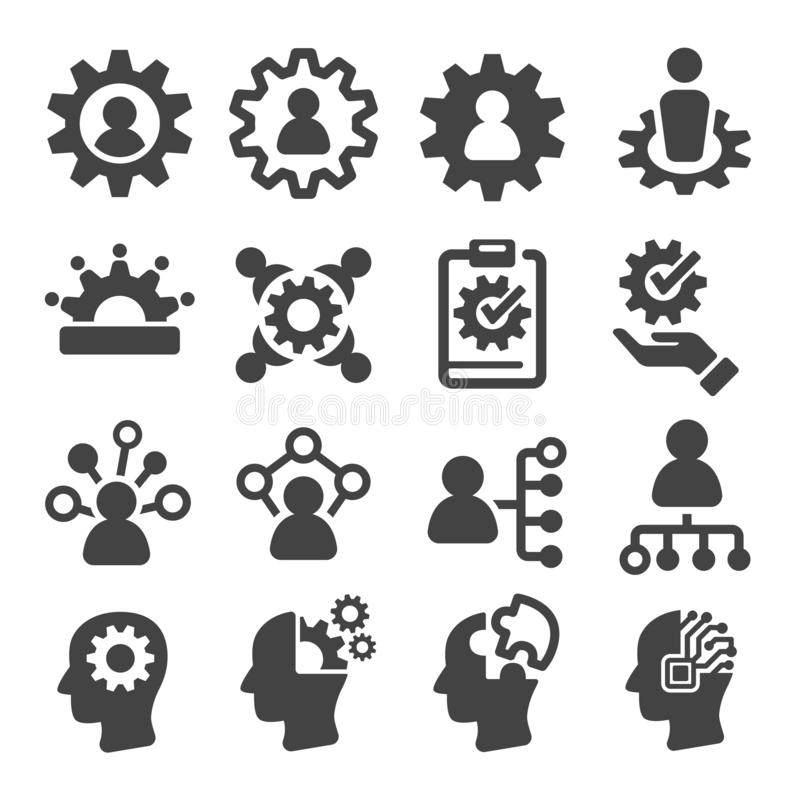 Free Skill Icon Set Stock Image - 136581041