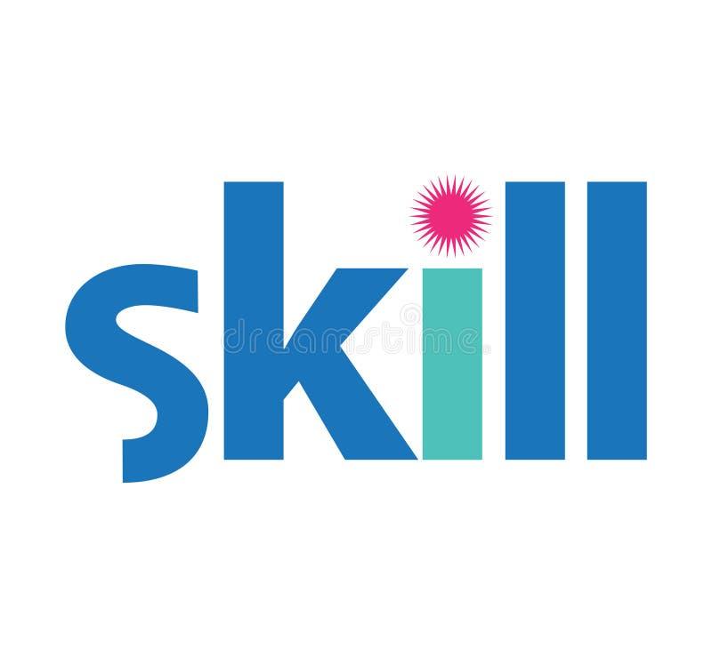 Download Skill Logo Concept Design stock illustration. Image of lesson - 83706501